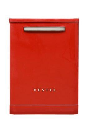 VESTEL BM-500 Retro A++ Kırmızı 5 Programlı Bulaşık Makinesi