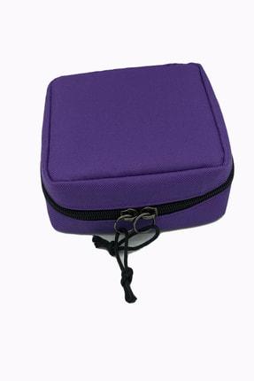 FAMİLY Kadın Çanta Içi Ped Cüzdanı Düzenleyici Çanta Mor