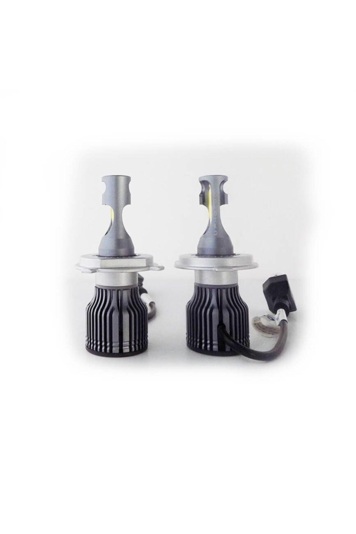 Photon H4 Mini Acorn 5+pluıs Led Xenon Şimşek Etkili Beyaz Zenon Far Ampulu 2