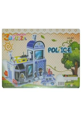 OneDay Polis 3d Karton Yapboz