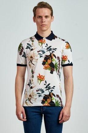 Giovane Gentile Erkek Beyaz T-Shirt LC0651202215