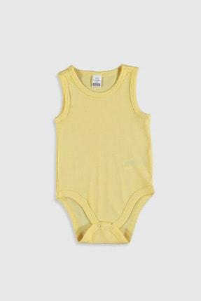 LC Waikiki Kız Bebek Sarı Frn Bebek Body & Zıbın