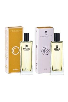 Bargello 2 Adet X 50 Ml Bayan Kadın Parfüm 323 Oriental 50 Ml Edp