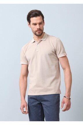 Ramsey Erkek Bej Düz Örme T - Shirt RP10120144