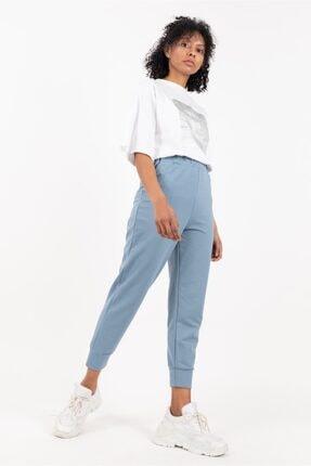 Loreen Kadın Belden Lastikli Penye Pantolon