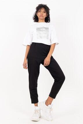 Loreen 30189 Kadın Belden Lastikli Penye Pantolon 20y