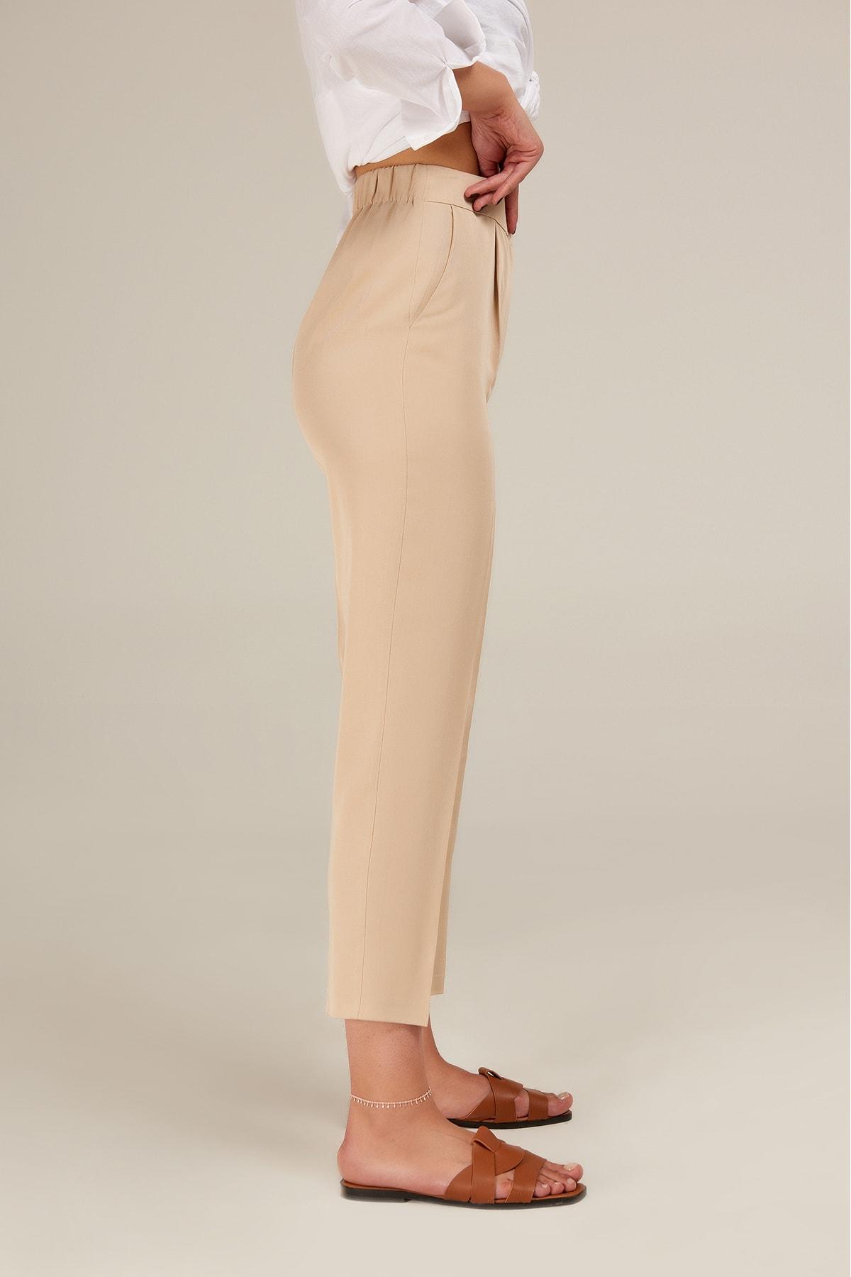 Appleline Kadın Relax Tencel Pantolon 2