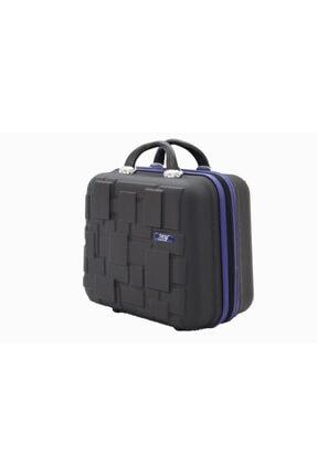 MY SARACİYE My Luggage 50136 Siyah Bakalit Seyahat Makyaj Çantası