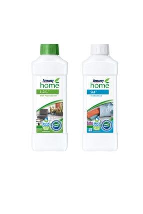 Amway Her Cins Kumaş Beyazlatıcısı Home™ Sa8™, Loc Çok Amaçlı Temizleyici