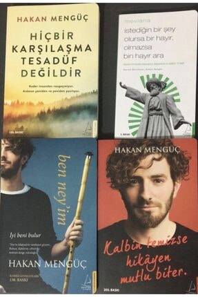 Destek Yayınları Hakan Mengüç 4 Kitap Set Hiçbir istediğin Bir Şey Olursa Bir Hayır Olmazsa Bin Hayır Ara
