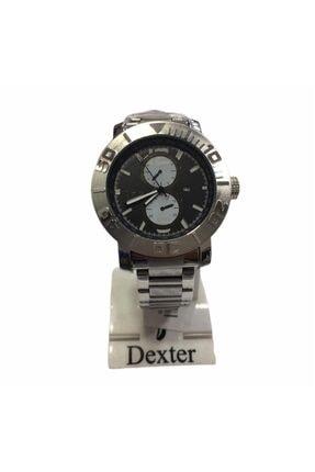 Dexter Erkek Gri Çelik Kol Saati