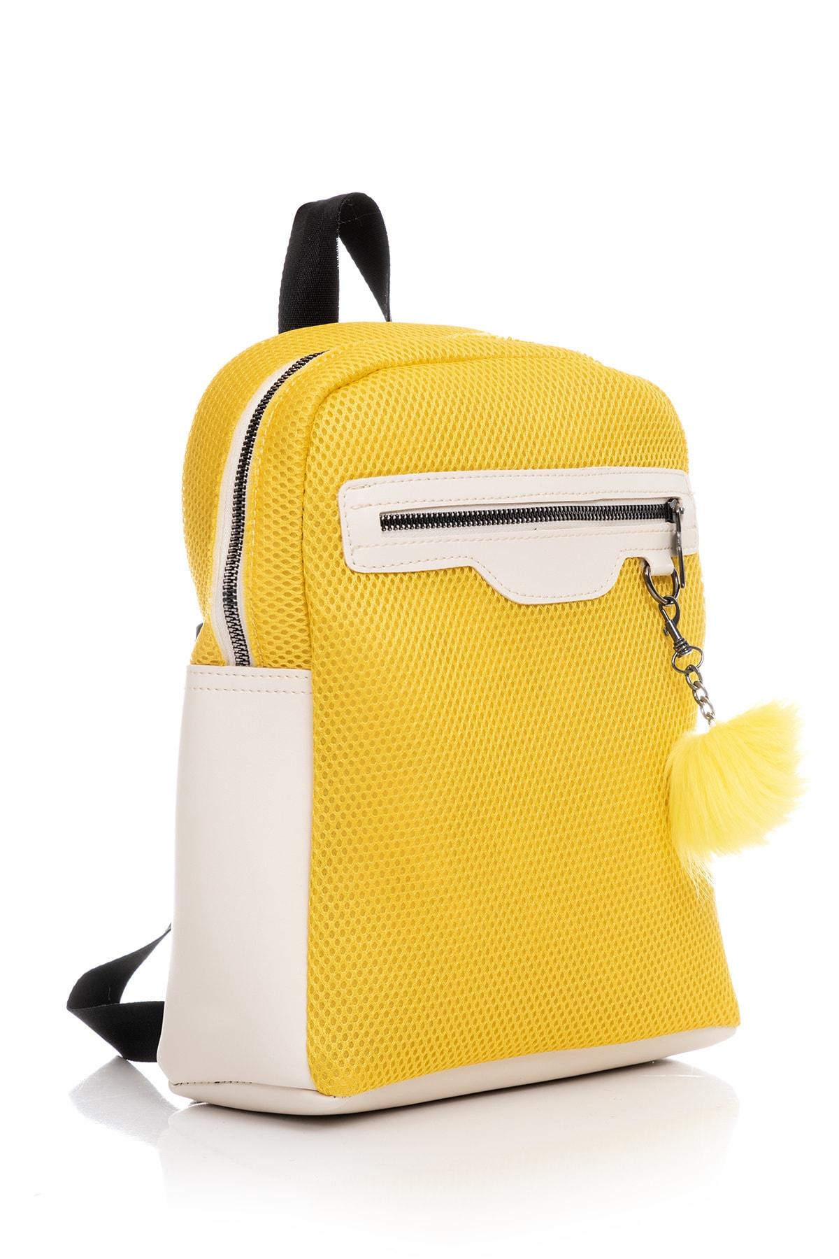 Tonny Black Kadın Çanta Sarı Beyaz Tbc03 2