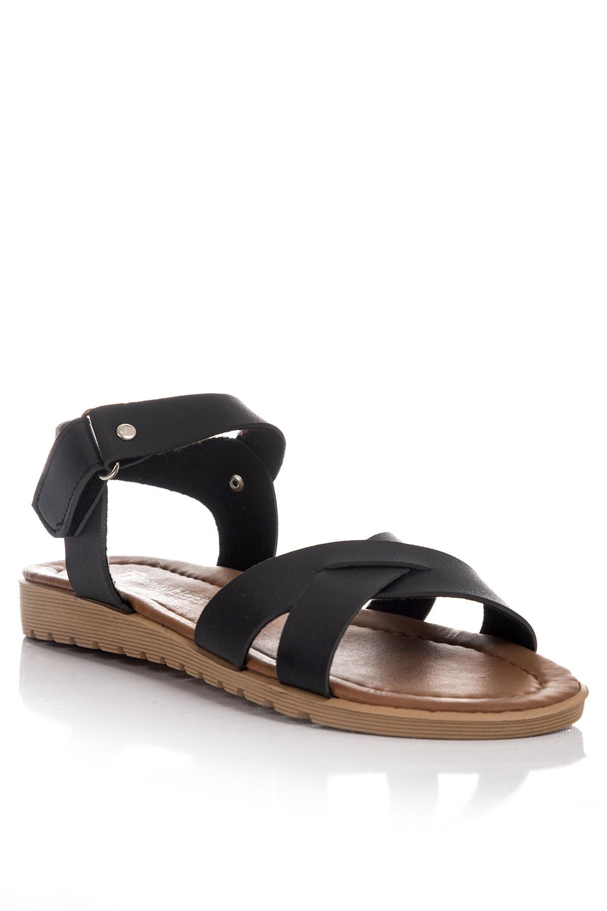 Tonny Black Kadın Sandalet Siyah Tbsnd 2