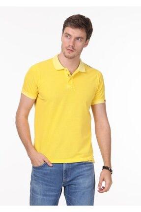 Ramsey Erkek Sarı Düz Örme T - Shirt RP10120144