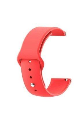 Techmaster Huawei Watch 2 Gt 42mm Gt2 42mm Tme Yeni Silikon Kordon Kırmızı
