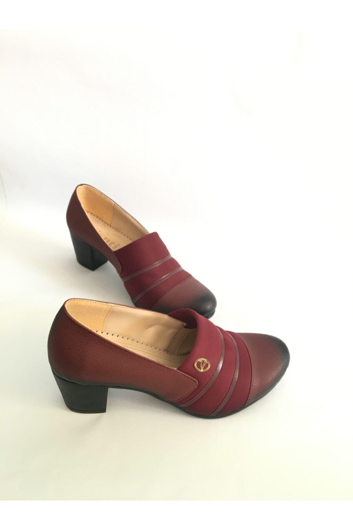 EREN Kadın Topuklu Bayan Ayakkabı 1