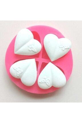 Altınyapı Hobi Market Silikon Kalıp - Mini Kelebekli Küçük Kalpler Sabun Ve Kokulu Taş Silikon Kalıbı