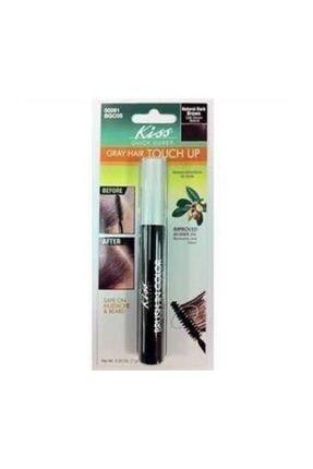 Kiss Quick Cover Beyaz Saç Kapatıcı Rimel - Siyah Kahve 7 g 731509502619