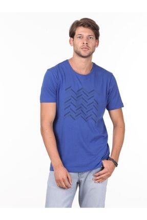 Kip Baskılı Örme T - Shirt