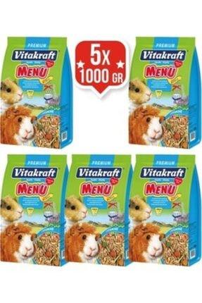 Vitakraft Menu Premium Ginepig Yemi 1000 Gr X 5 Adet