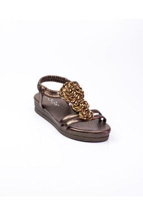Guja 207 - 5 Kahverengi Kadın Sandalet Kahverengi-37