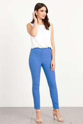 Moda İlgi Modailgi Yan Cep Dar Paça Pantolon Mavi