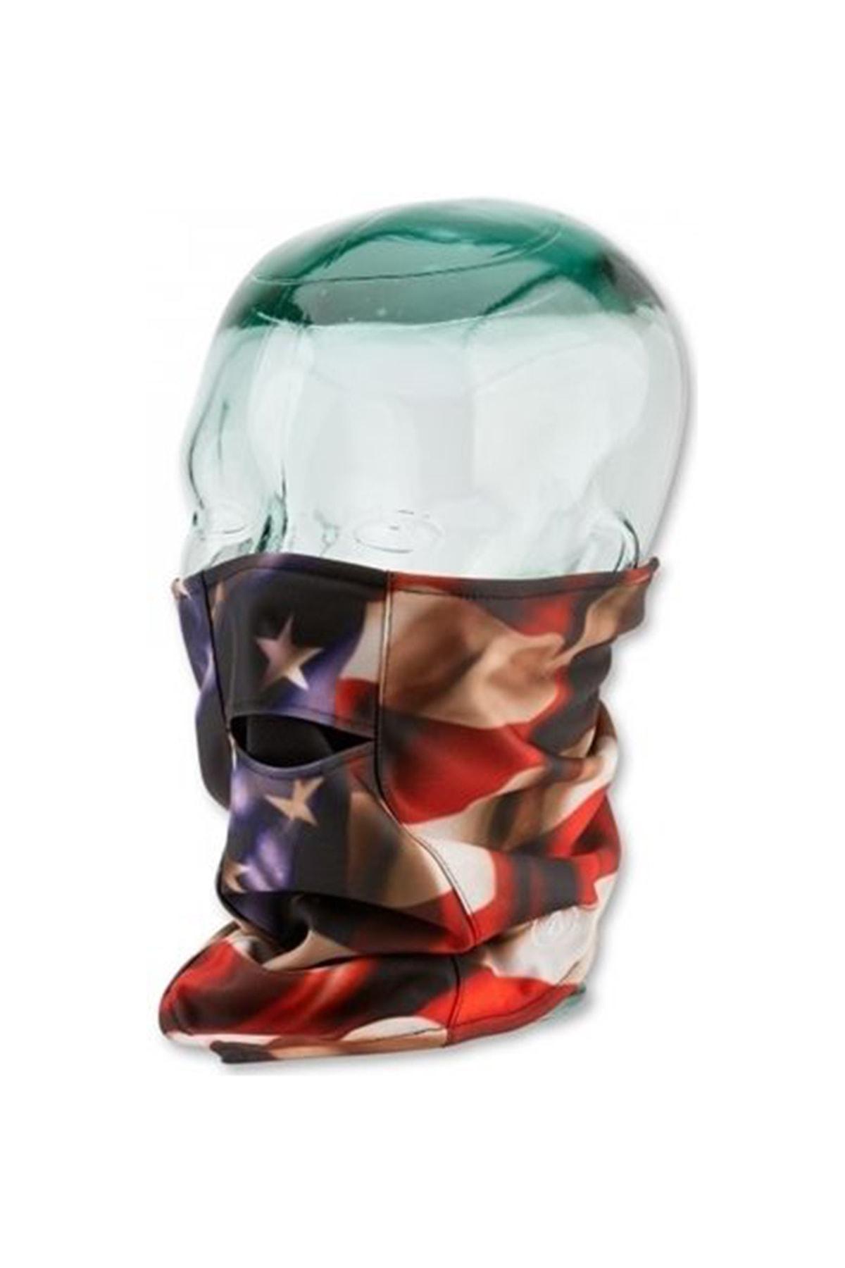 VOLCOM Vco Tie Up Face Mask Blu Maske