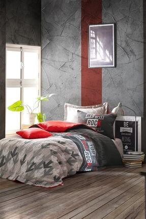 Cotton Box Genç Odası Tek Kişilik Complete Set Rock Kırmızı