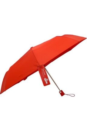 Vardem Susino Katlanabilir Yağmur Şemsiyesi Kirmizi