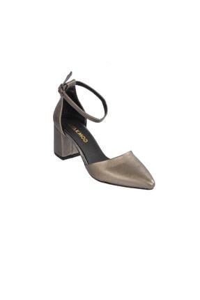 Maje 1903 Platin Kadın Topuklu Ayakkabı