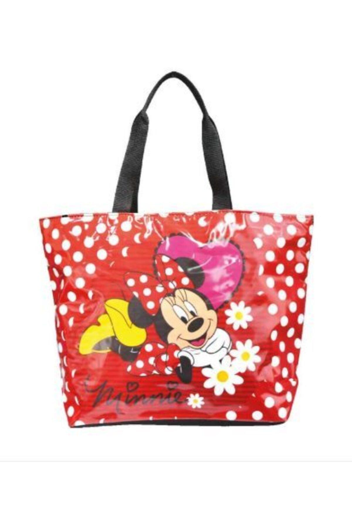 Disney Mickey Mouse Minnie Mouse Lisanslı Plaj Çantası Minnie-Mouse 1