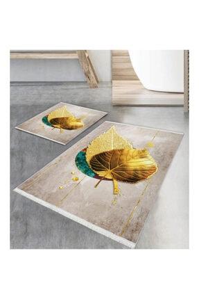 İpekçe Home Kare Petunya Digital 2' Li Klozet Takımı Fm-2066