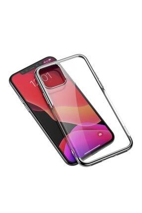 Baseus Shining Case Iphone 11 6.1 Inc?2019?ultra Ince Silikon Kılıf Gümüş