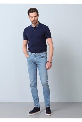 Ramsey Erkek Lacivert Düz Denim Pantolon RP10119922