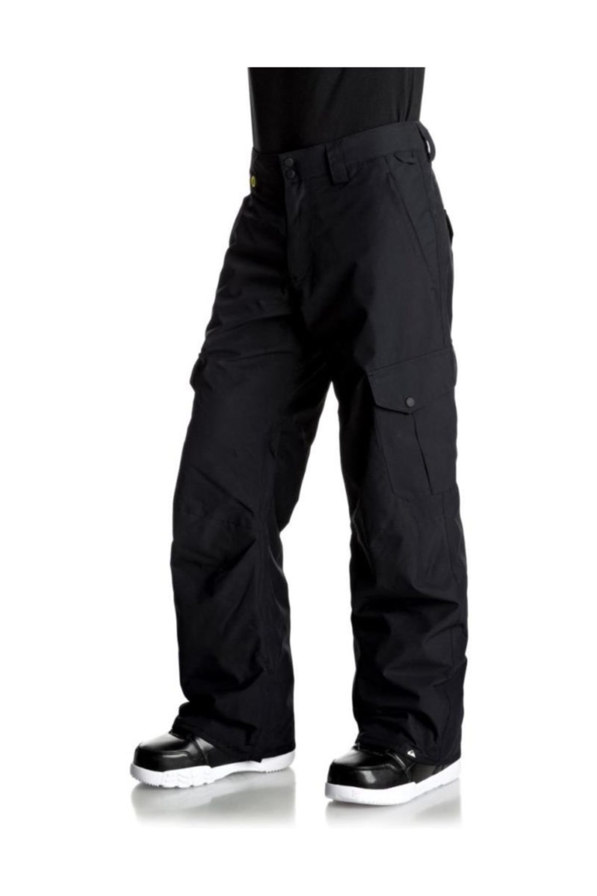Quiksilver Porter Erkek Kayak ve Snowboard Pantolonu Siyah 2