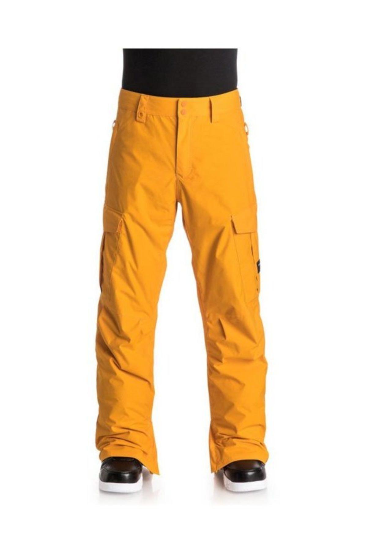Quiksilver Porter Ins Erkek Kayak ve Snowboard Pantolonu Sarı 1
