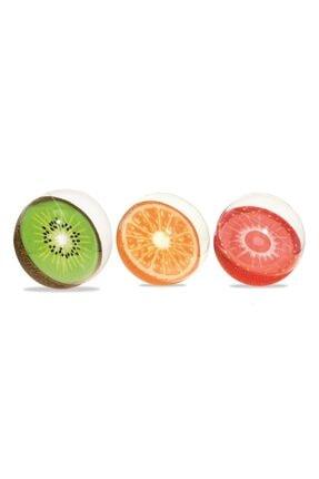 BESTWAY 31042 Yaz Meyvesi Tasarımlı Havuz & Deniz Topu 46cm X 18
