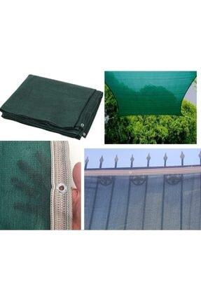 Asenya 2x3 m Yeşil Bahçe Gölgelik Branda Gölgeleme Örtüsü Çit Filesi Balkon Örtüsü Gölgelik Kumaş