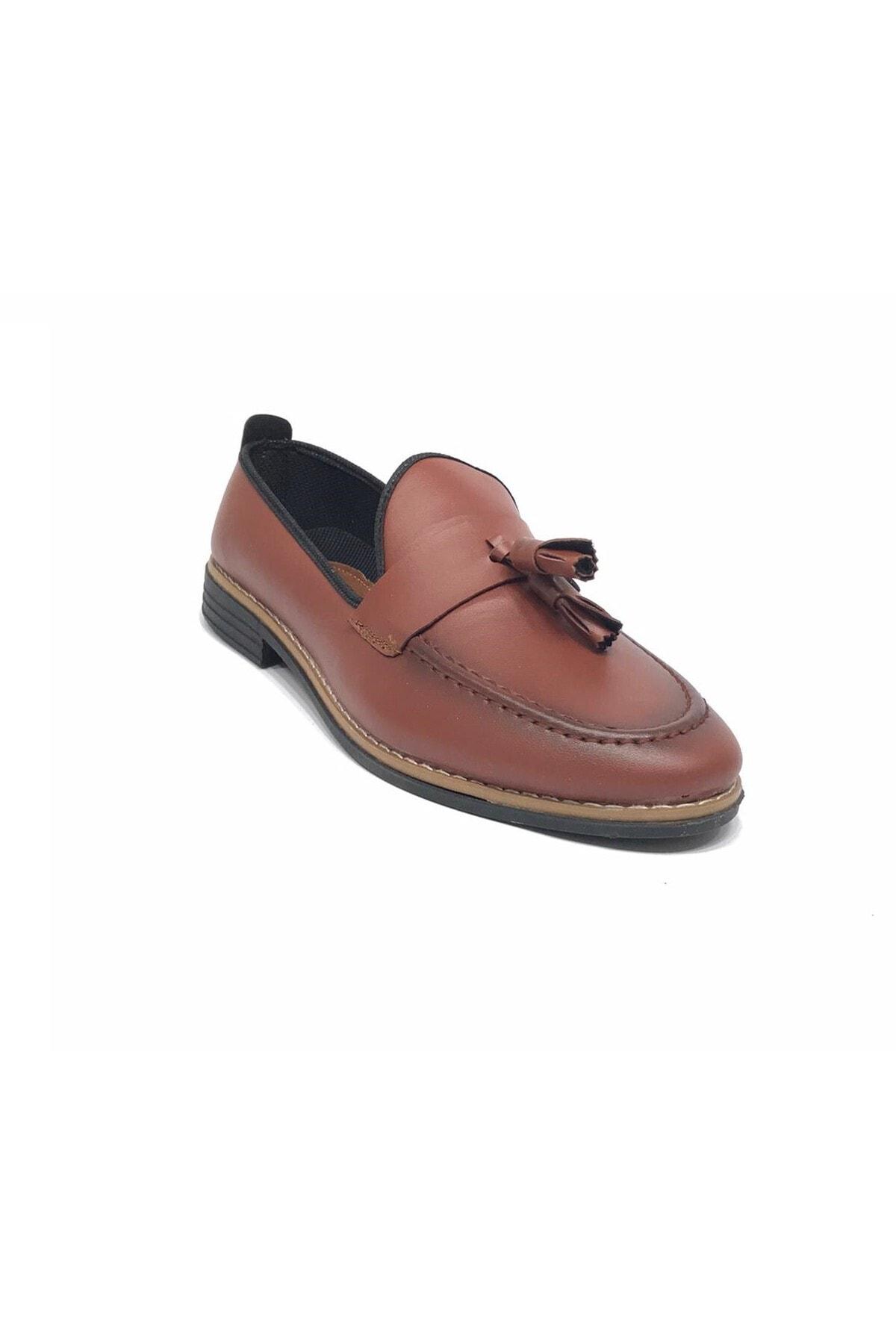 Almera Erkek Kahverengi Babet Ayakkabı 1