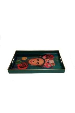 Lucky Art Luckyart Dik Frida Desenli Tepsi 45x31cm Lysp001