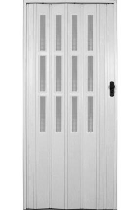 Penguen Akordiyon Katlanır Kapı 12 Mm Beyaz Camlı En 87 Cm * Boy 220 Cm' E Kadar