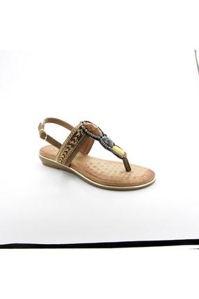 Guja 20y231-10 Kadın Deri Ortopedik Sandalet