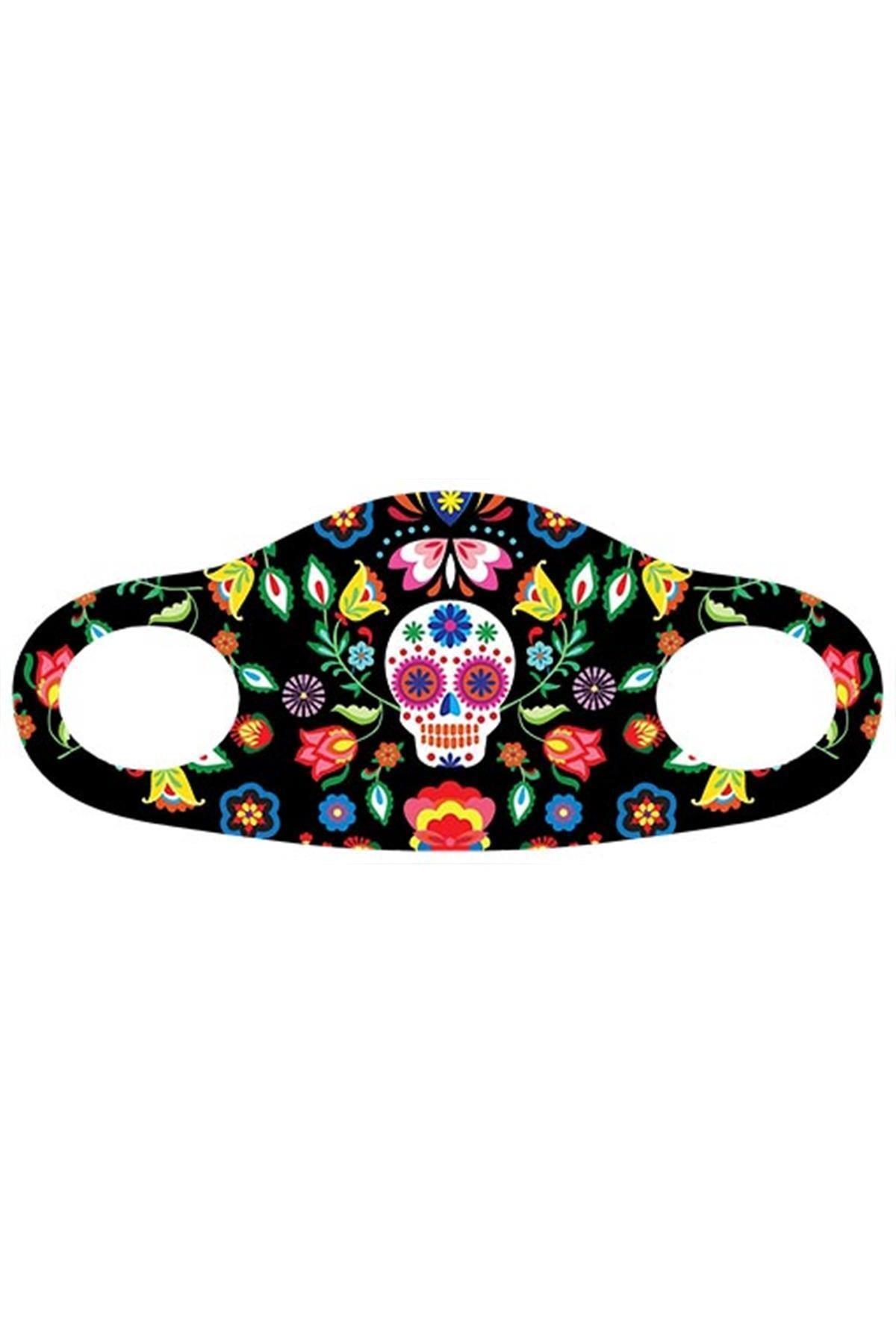 Noon Collection Noon NN7042 Kadın Baskılı Maske