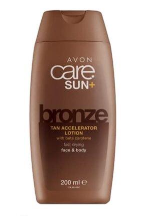 AVON Care Sun+ Bronze Bronzlaşmayı Hızlandırıcı Yüz Vücut Losyonu 200 Ml.