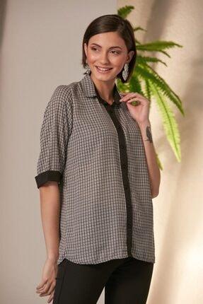 RMG Kazayağı Desen Bluz