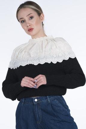 Enjoy Dantelli Kadın Triko Kazak 2021