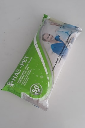 Has-Pet Antibakteriyel Perine Bölge Temizleme Havlusu (50'lik)