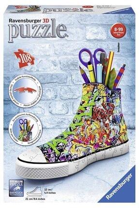 RAVENSBURGER Puzzle Sneaker Graffiti (plastik Puzzle) 108 Parça 3d