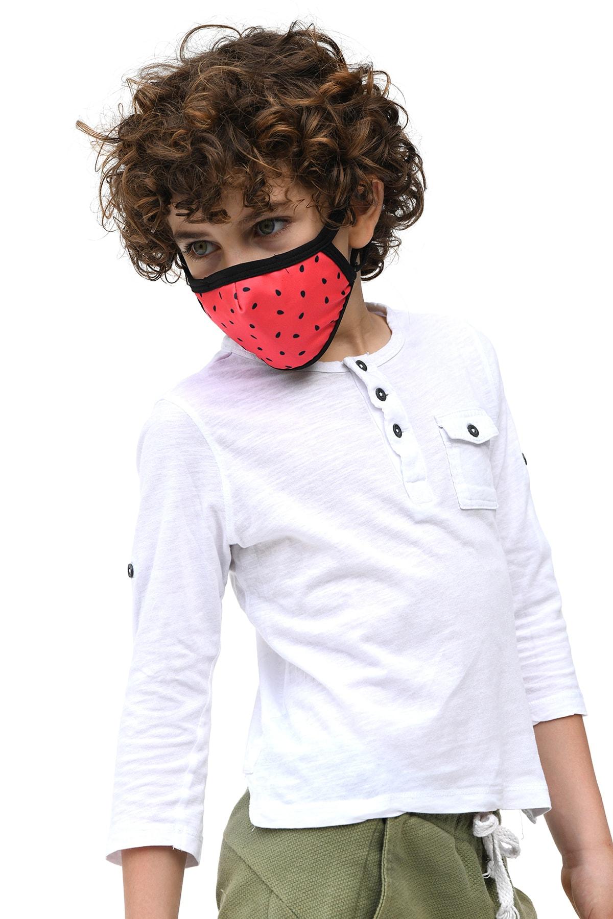 Etnik Esintiler TM017K Maske Watermelon