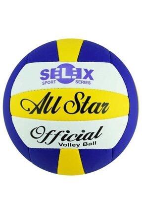 SELEX Allstar Voleybol Topu Sarı Lacivert Beyaz